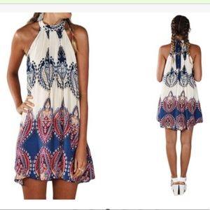 Leo Rosi Darcy halter dress size medium
